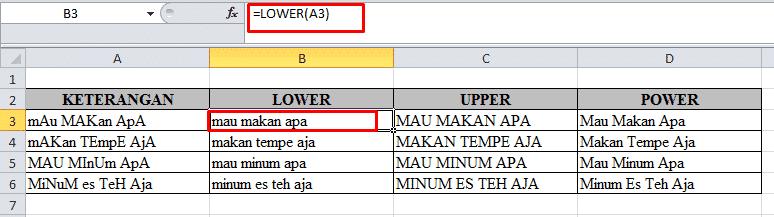 Rumus Excel
