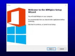 cara aktivasi office 2010 dengan kmspico