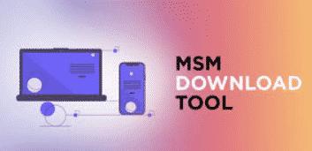 MSM Download Tool