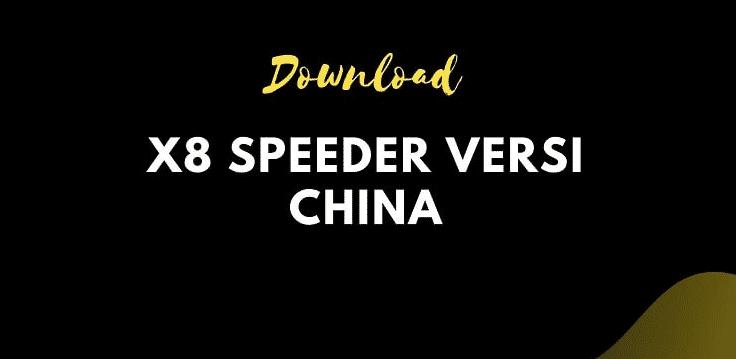X8 Speeder Versi China